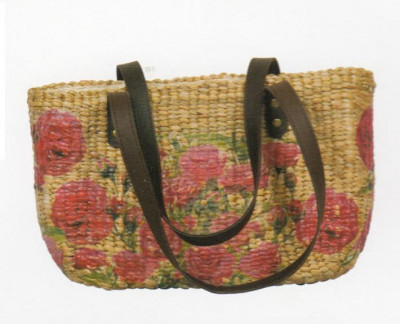 Flower Printed Handcrafted Bag for Women(#168)-gallery-0