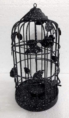 Floral Vine Design Bird Cage for Home Decor or Gardens(#1688)-gallery-0