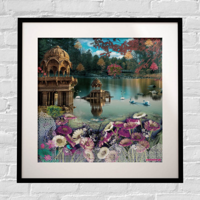 Beautiful Rajasthani Framed Art Print(#1715)-gallery-0
