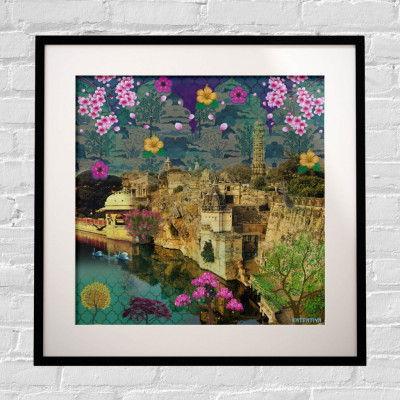 Beautiful Historical Structure Framed Art Print(#1721)-gallery-0