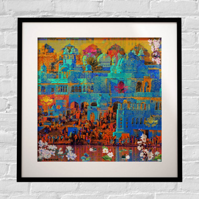 Indian Heritage Framed Art Print(#1724)-gallery-0