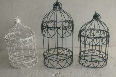 Love motifs Bird cage - Small Medium Large(#1726)-gallery-0