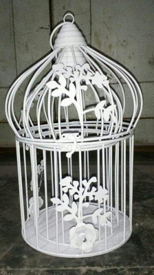 Creative Floral Vine Dome shaped Bird cage(#1731)-gallery-0