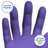 Kimberly Clark KC500 Purple Nitrile Powder Free Exam Gloves(#1733)-thumb-3