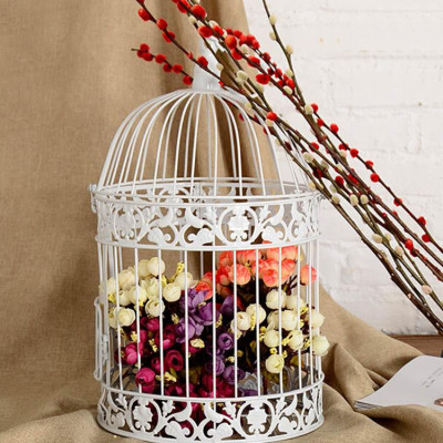Birdcage Candle Holder Wedding Home Decor Tealight Decor(#1737)-gallery-0