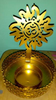 Surya Shadow Tea light Holder for Home Decor Diwali decor(#1767)-gallery-0