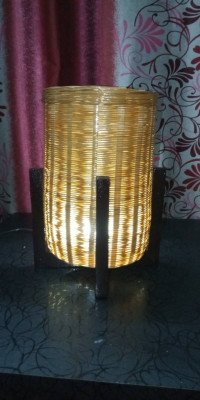 HAND MADE TABLE LAMP(#1773)-gallery-0