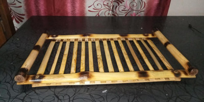 BAMBOO MADE SERVING TRAY(#1779)-gallery-0