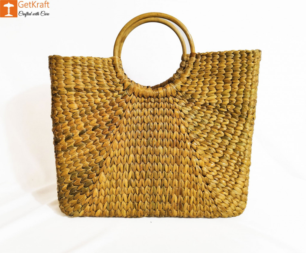 Natural Straw Handbag BG051(#178)-gallery-0