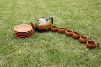 Designer Tea Set Double Baked(#1828)-gallery-0