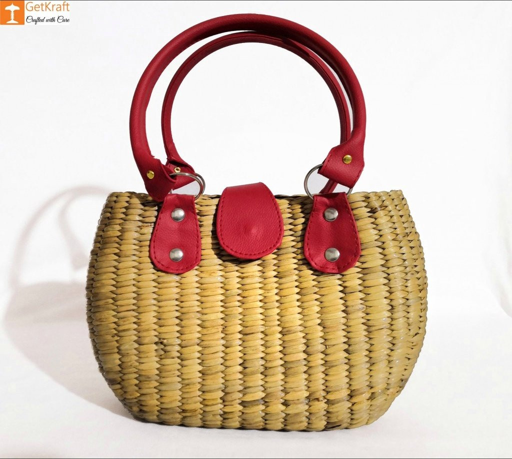 Natural Straw Handbag(#184)-gallery-0