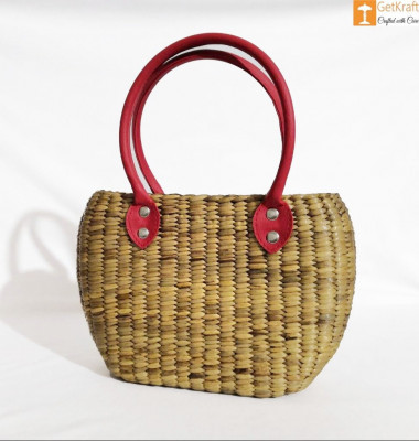 Natural Straw Handbag BG058(#185)-gallery-0