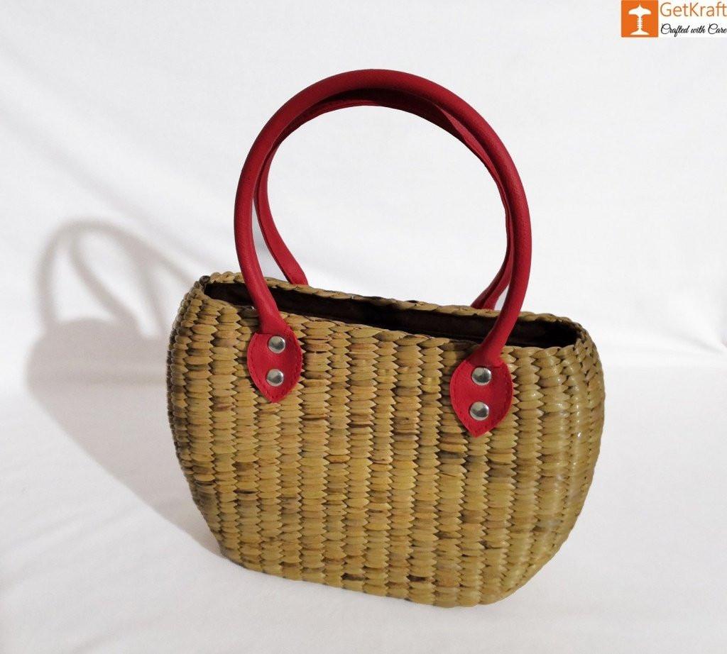 Natural Straw Handbag BG058(#185)-gallery-1