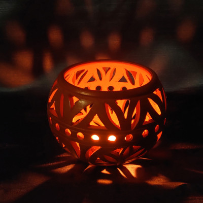 Tea Light Candle Holder(#1854)-gallery-0