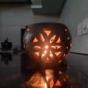 Tea Light Candle Holder Double Baked(#1855) - getkraft.com