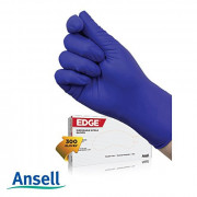 Ansell Edge 82-133 Disposable Nitrile Gloves (Pack of 300 Gloves)(#1890) - getkraft.com