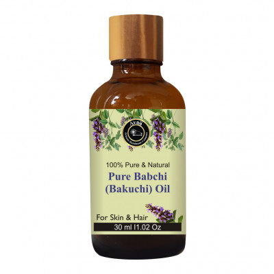 Avnii Organics 100 Pure Natural Babchi Oil Bakuchi Oil Ideal For Hair Growth Hair Care Skin Care Scar Wound Healing 30ml(#1907)-gallery-0