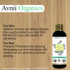 Avnii Organics Sesame Pure Cold Pressed Oil For Hair Body Skin Care Glowing Skin Massage100 ml(#1912)-thumb-2