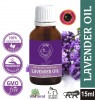 Avnii Organics Lavender Oil 100 Natural Therapeutic Grade Ideal for Healthy Skin Hair (15ml)(#1914)-thumb-2