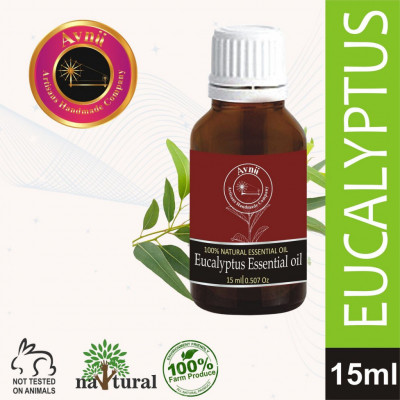 Avnii Organics Natural and Therapeutic Grade Eucalyptus Essential Oil for Beautycare15 ml(#1916)-gallery-0