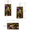 Avnii Organics Multi color Mobile Pouch (Mobile Cover) Rajasthani Style beautiful hand crafted Velvet cover for Women(#1922)-thumb-1