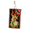 Avnii Organics Multi color Mobile Pouch (Mobile Cover) Rajasthani Style beautiful hand crafted Velvet with Mirror work cover for Women(#1923) - getkraft.com