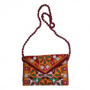 Avnii Organics Rajasthani Gujrati Jaipuri Embroidery Mirror work slings bags for women girls(#1925) - getkraft.com