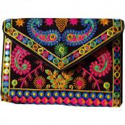 Avnii Organics Rajasthani Gujrati Jaipuri Embroidery Mirror work slings bags for women girls(#1926) - getkraft.com