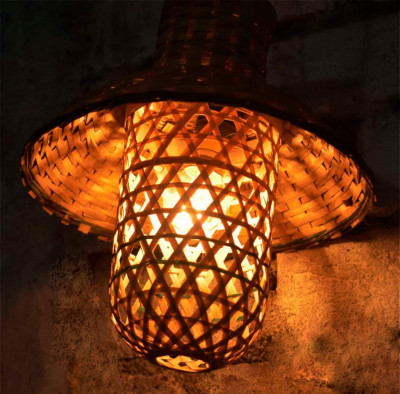 Bamboo jali light(#1936)-gallery-0