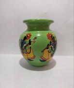Rajasthani Musician Terracotta Pot(#1938) - getkraft.com