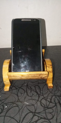 HAND MADE ECO FRIENDLY BAMBOO MOBILE STAND(#1948)-gallery-0