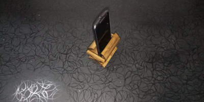 HAND MADE ECO FRIENDLY BAMBOO MOBILE STAND(#1949)-gallery-0