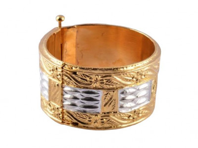 Traditional Assamese Bangle Bracelet Golden Muthikharu(#196)-gallery-0