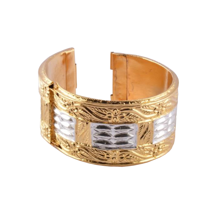 Traditional Assamese Bangle Bracelet Golden 'Muthikharu'(#196)-gallery-1