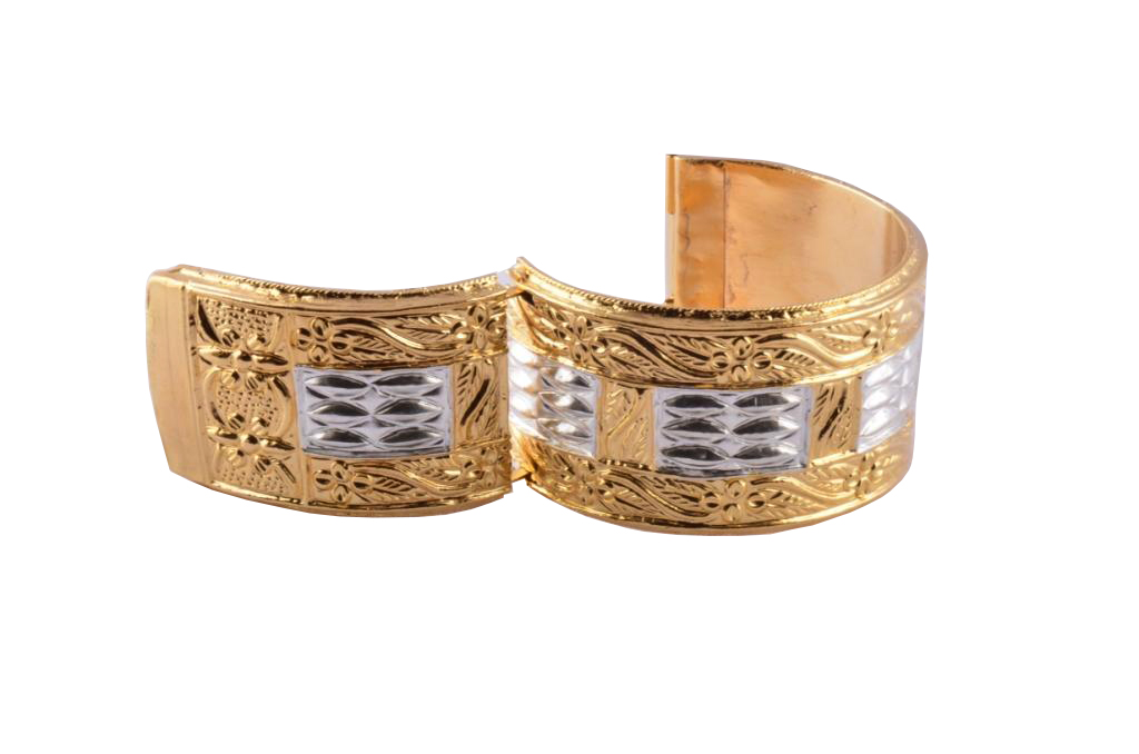 Traditional Assamese Bangle Bracelet Golden 'Muthikharu'(#196)-gallery-2