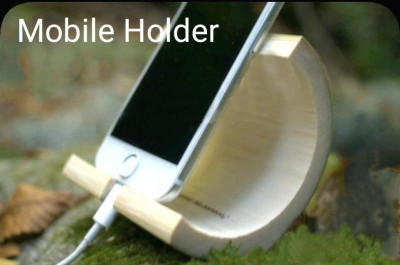 Bamboo Mobile Stand(#1962)-gallery-0