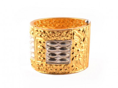 Assamese Gold Plated Jewellery Bangle Gam kharu(#202)-gallery-0
