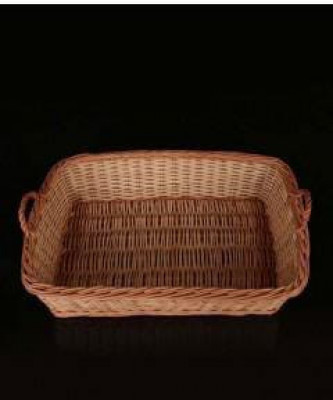 Wicker Rectangular Hamper Tray High Quality(#2054)-gallery-0