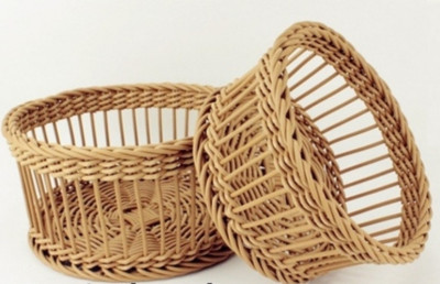 Wicker Small Utility Basket(#2057)-gallery-0