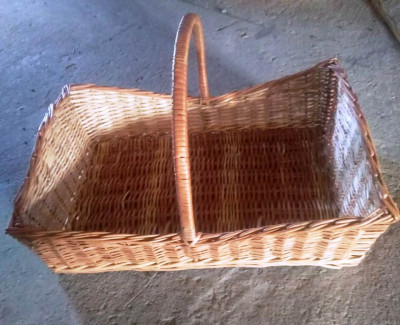Wicker Basket with Handle(#2058)-gallery-0