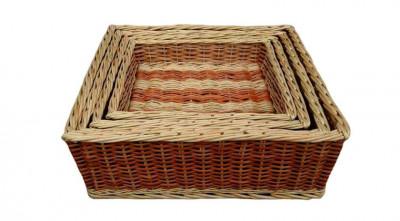 Wicker Laundry Basket Spa Tray Hotel Room Tray(#2064)-gallery-0