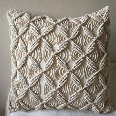 Macrame cushion cover Style 4( Pack of 5)(#2083)-gallery-0