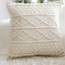 Macrame cushion cover Style 11( Pack of 5)(#2090) - getkraft.com