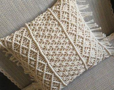 Macrame cushion cover Style 23(Pack of 5)(#2110)-gallery-0
