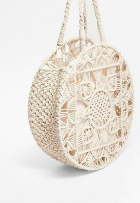 Macrame Ladies Bag Style 1(#2115)-gallery-0