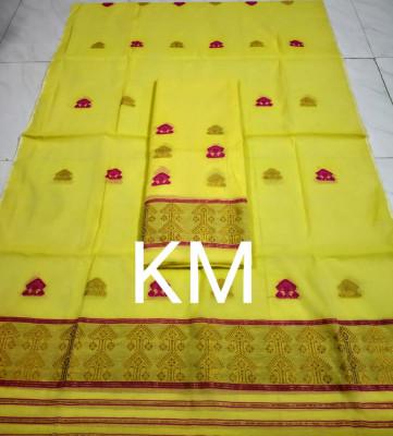AC Cotton Handmade Chador Mekhela Style 2(#2129)-gallery-0
