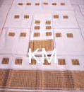 AC Cotton Handmade Chador Mekhela Style 3(#2130) - getkraft.com