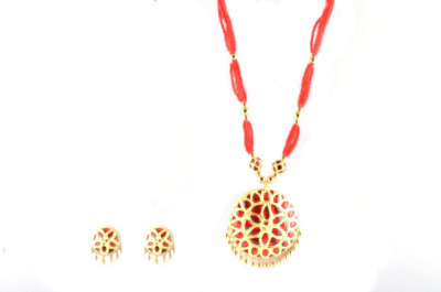 Regular Size Jaapi Traditional Assamese Jewellery for Women(#214)-gallery-0