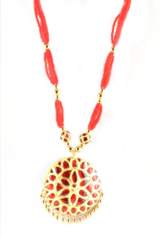 Regular Size 'Jaapi' Traditional Assamese Jewellery for Women(#214)-gallery-1