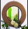 Handicraft mirror (rope )(#2142) - getkraft.com